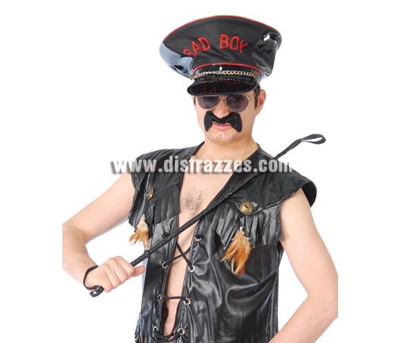Fusta Sadomasoquista o de Mando Militar. Ideal para indumentarias Sado, también puede valer en disfraces del éjercito o militares como fusta de mando.