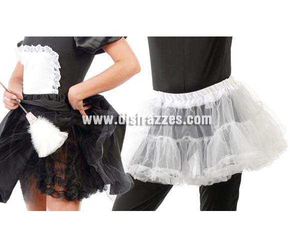 Tutú para mujer adulta. Talla standar de mujer. Disponible en 2 colores, blanco y negro. Precio por unidad.