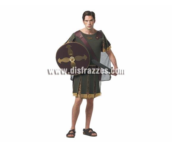 Disfraz barato de Caballero o Guerrero Griego para hombre. Talla standar M-L = 52/54. Incluye traje y escudo. Espada NO incluida, podrás ver espadas de éste tipo en la sección de Complementos - Armas.