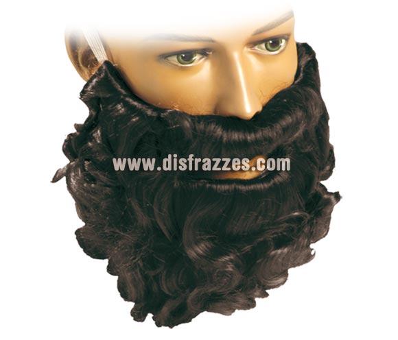 Barba rizo negra pelo natural. Barba ideal para lo que quieras, sobre todo para el disfraz de San José.