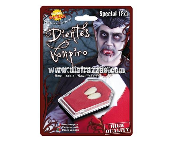 Colmillos de Vampiro para Halloween.