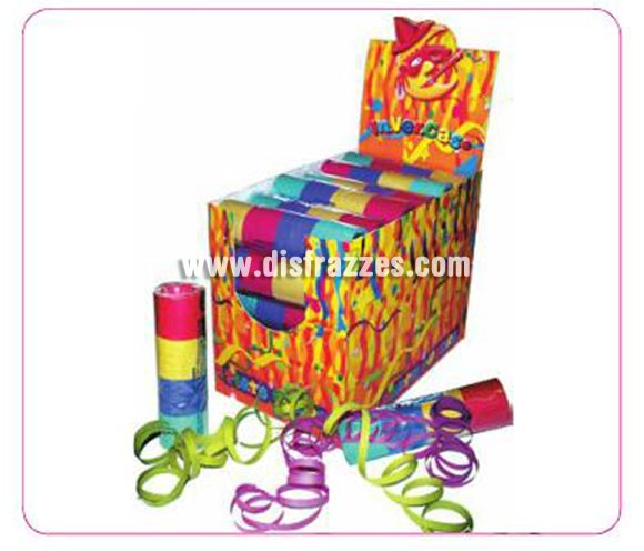 Paquete 20 rollitos de Serpentina varios colores. El precio es por 1 paquete de 20 rollitos de Serpentina, la imagen es sólo ilustrativa.
