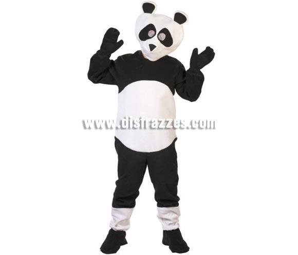 Disfraz de Oso Panda adultos. Alta calidad. Hecho en España. Disponible en talla única de hombre (50) y de mujer (44). Incluye traje completo con cabeza.