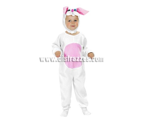 Disfraz de Conejito para niños de 1 a 2 años. Incluye gorro y monito. Éste disfraz es perfecto para jugar a ser el conejo de Alicia en el País de las Maravillas.