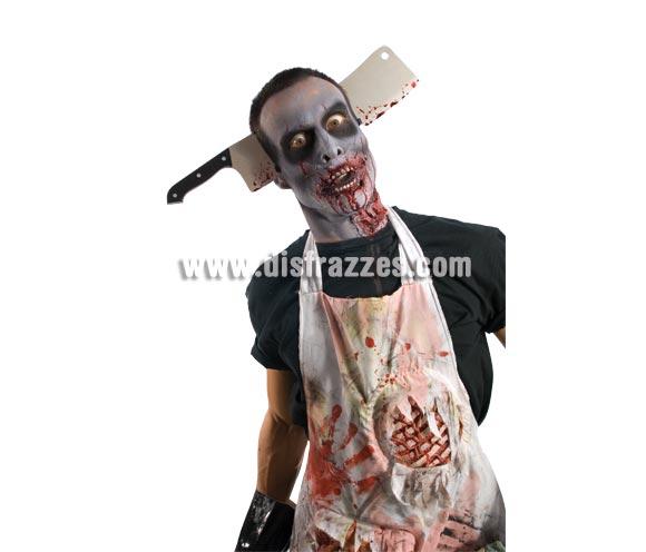 Diadema con cuchillo de Carnicero Zombies.