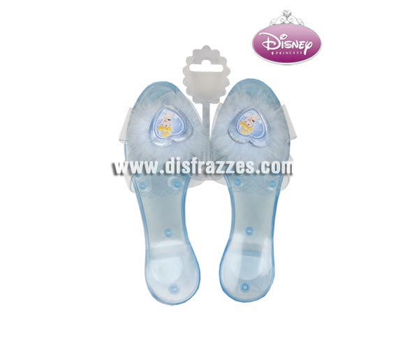 Zapatos Cenicienta Disney Princess para niñas. Talla única, miden unos 19 cm. Artículo con licencia Disney perfecto como regalo.