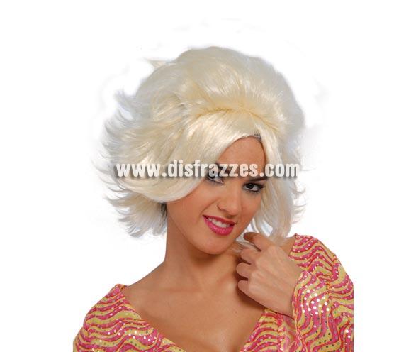 Peluca Miriam rubia - Años 80 y 90.