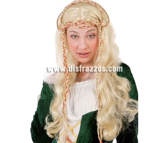 Peluca Medieval Rubia.