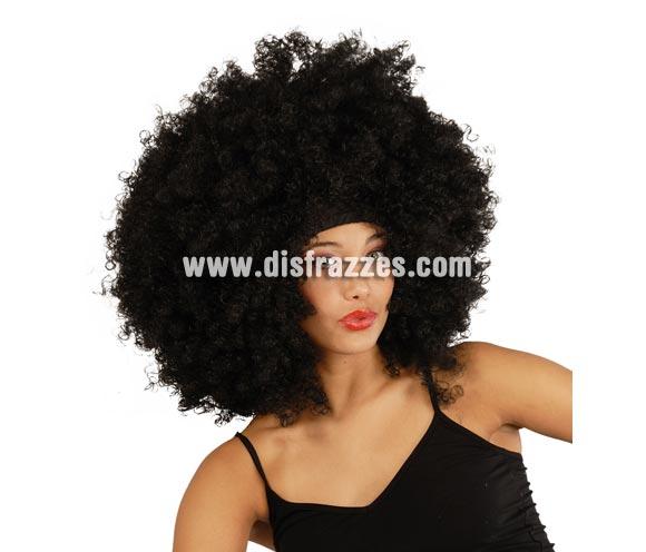 Peluca Afro rizos Extra.