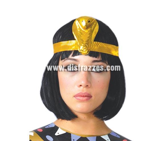 Peluca melena Cleopatra, Egipcia o Charlestón para Carnavales. Cinta NO incluida, podrás verla en la sección de Complementos.