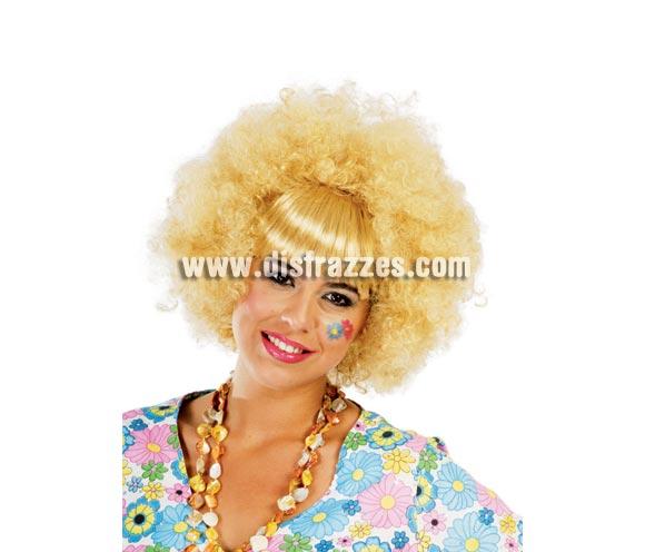 Peluca Isabel - Peluca Hippie rubia.
