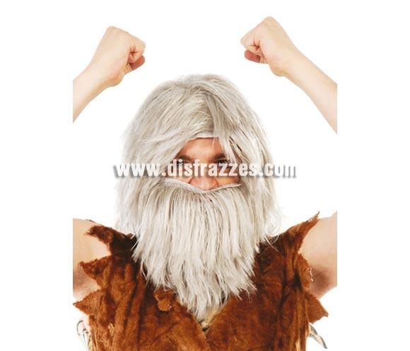 Peluca y barba de Náufrago.
