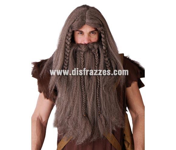 Peluca y barba de Vikingo.