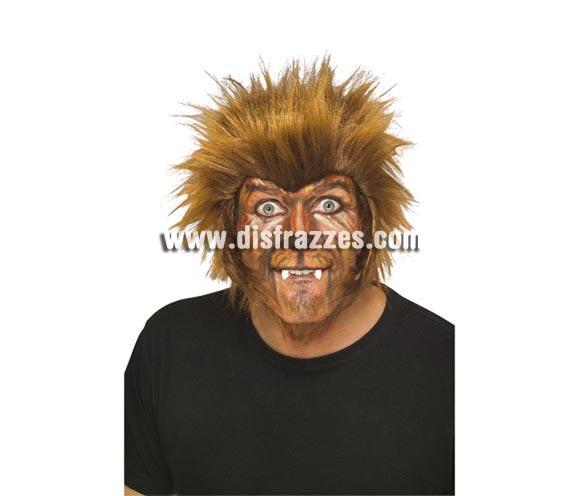 Peluca de Hombre Lobo perfecta para Halloween. Incluye sólo la peluca, la cara es un maquillaje profesional.