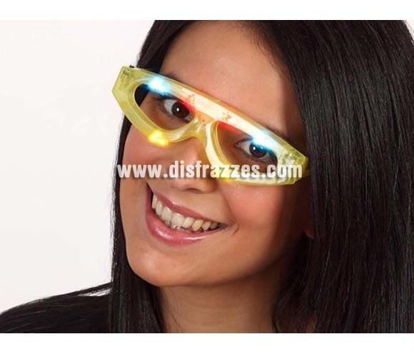 Gafas con luz alargadas con pilas. perfectas para Despedidas de Soltero.