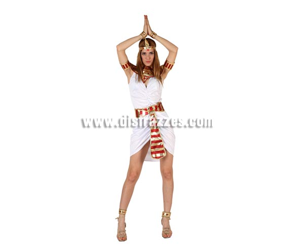 Disfraz barato de Egipcia sexy para mujer talla M-L