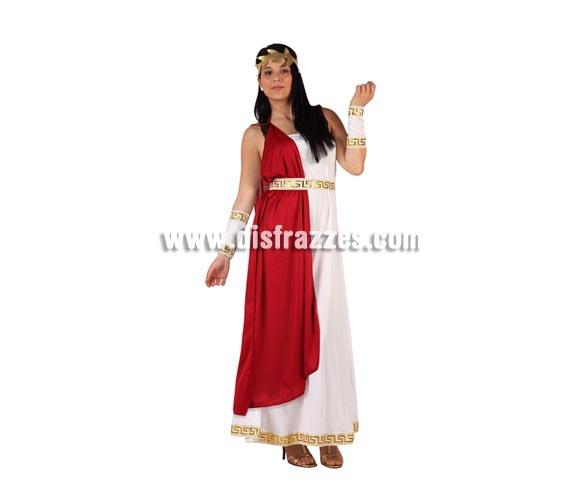Disfraz de Emperatriz Romana para mujer. Talla 2 ó talla Standar M-L 38/42. Incluye traje completo.