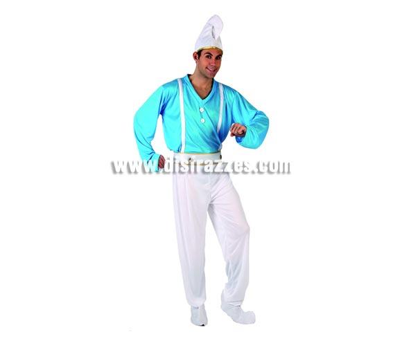 Disfraz de Enano Azul para hombre. Talla 2 ó talla M-L standar 52/54. Incluye disfraz completo. Este disfraz podría valer perfectamente para parecer un Pitufo.