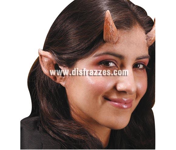 Maquillaje FX Orejas de Diablo o Demonio para Halloween.