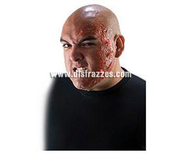 Quemaduras FX'S - Maquillaje profesional para Halloween. Complemento ideal para tu maquillaje de efectos especiales: conseguirás una muy real apariencia de piel quemada. Recuerda que para fijarlas necesitarás el Pegamento FX  ref. 68924RU.