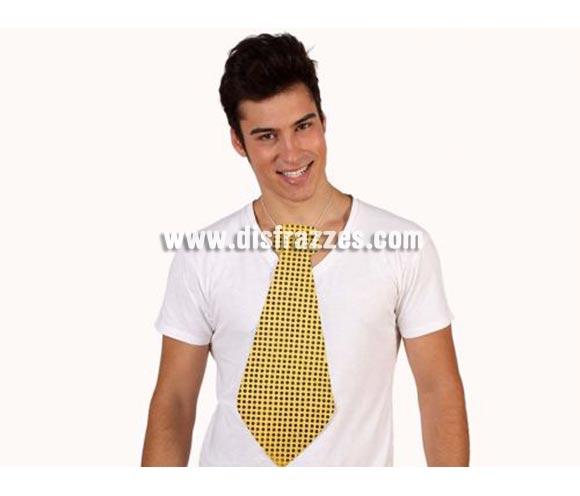 Corbata gigante de Lentejuelas de 43 cm. Perfecta para los disfraces de Payaso, por ejemplo.