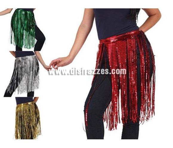 Falda charlestón  o Hawaiana en colores variados. Precio por unidad. Incluye sólo la falda.