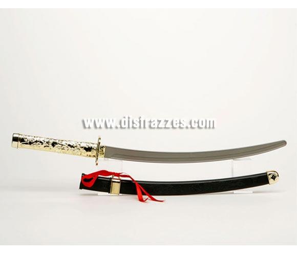 Katana o Espada Ninja con funda de 61 cm.