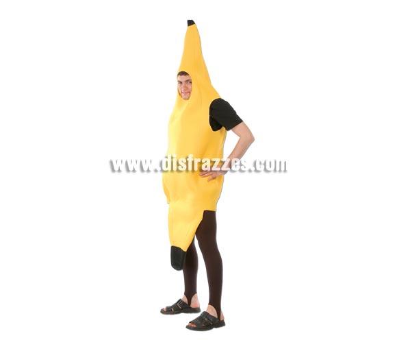 Disfraz de Plátano para hombre. Talla Universal 52/54. Incluye traje. Ideal para Despedidas de Soltero.