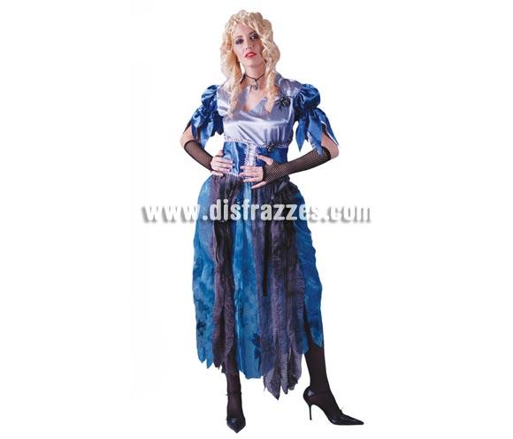 Disfraz de Lady Araña mujer para Halloween. Talla Standar válida hasta la 42/44. Incluye vestido con arañas.