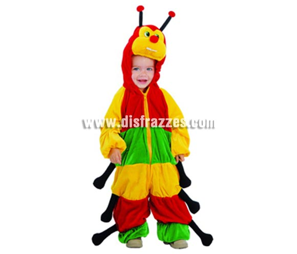 Disfraz de Cienpies Baby para Carnavales. Talla de 1 a 12 meses. Incluye disfraz completo. ¡¡Compra tu disfraz para Carnaval en nuestra tienda de disfraces, será divertido!!