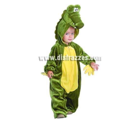 Disfraz de Cocodrilo Baby para Carnavales. Talla de 1 a 12 meses. Incluye disfraz completo. ¡¡Compra tu disfraz para Carnaval en nuestra tienda de disfraces, será divertido!!