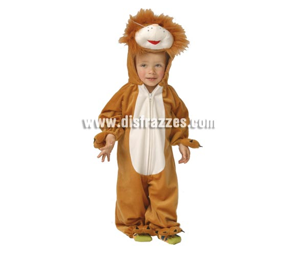 Disfraz barato de León Baby 1 a 12 meses para Carnaval