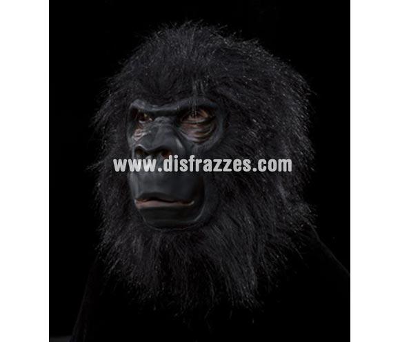 Careta de gran Gorila con pelo