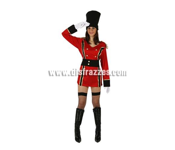 Disfraz de Rusa para mujer. Talla 2 ó talla Standar M-L 38/42. Incluye vestido, cinturón y gorro. Guantes, botas y medias NO incluidas, podrás encontrar en nuestra sección de Complementos.