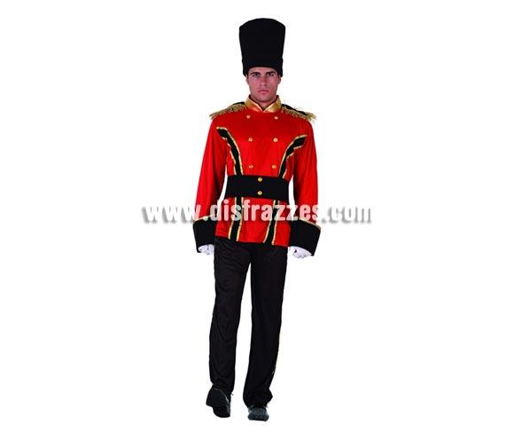 Disfraz de Soldado Ruso para hombre. Talla 2 ó talla standar M-L 52/54. Incluye disfraz completo. Guantes NO incluidos, podrás encontrar en nuestra sección de Complementos.
