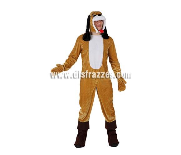Disfraz de Perro Pachón para hombre. Talla 2 ó talla Standar M-L = 52/54. Incluye mono, guantes y gorro.