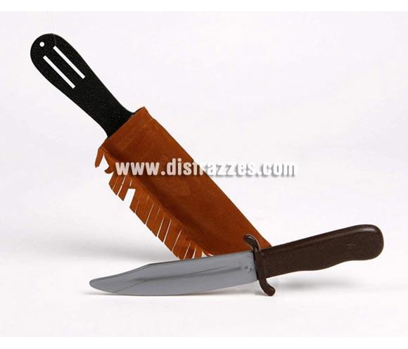 Cuchillo Indio PVC con funda de 35x10 cm.