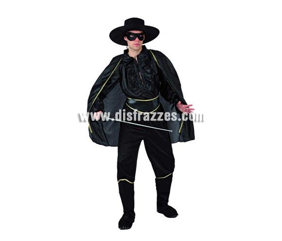 Disfraz de Bandido para hombre Talla 3 ó talla XL = 54/58. Espada NO incluida, podrás verlas en la sección de Complementos.