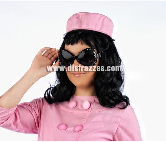 Gafas negras multiusos, para disfraces de años 60, 70 y 80, para disfraz de Maruja, etc. etc.