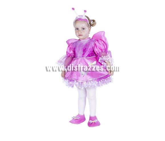 Disfraz de Mariposa para niñas - Varias tallas. Contiene diadema, vestido con alas y cubrepies.