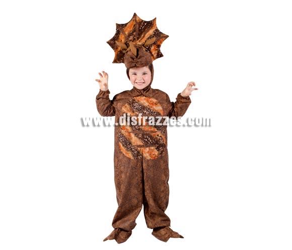 Disfraz de Dinosaurio Triceratops para niños. Varias tallas . Contiene disfraz completo. Alta calidad. MADE IN SPAIN. Para que los niños puedan jugar a ser como los dinosaurios de la famosa película JURASIC PARK.