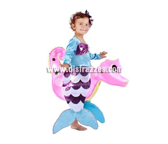 Disfraz de Sirenita Princesa del Mar para niñas. Varias tallas. Contiene disfraz completo. Alta calidad. MADE IN SPAIN.