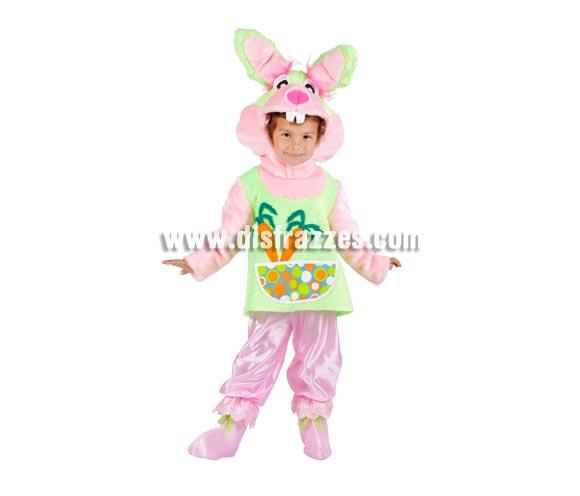 Disfraz de Conejita para niñas - Varias tallas. Contiene disfraz completo. Alta calidad. MADE IN SPAIN. Para que las niñas puedan jugar al cuento de Alicia en el País de las Maravillas y desarrollar su imaginación.