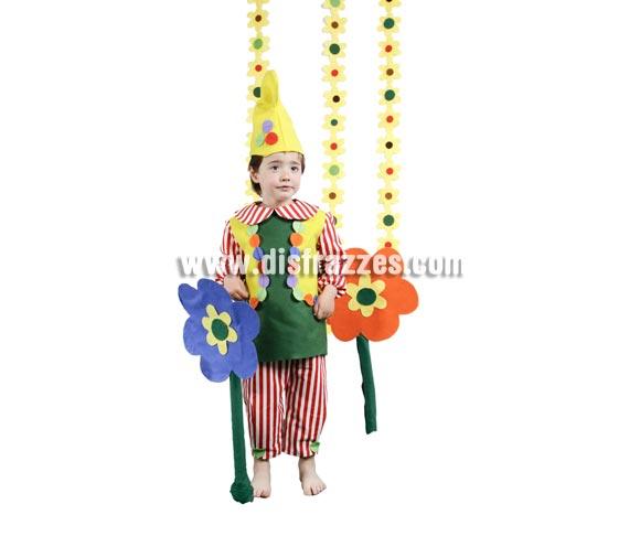 Disfraz de Elfo infantil para Carnaval y para  Navidad. Buena calidad. Hecho en España. Disponible en varias tallas. Incluye gorro, camisa, chaleco-peto y pantalón. Disfraz de duende de niño para Navidad.
