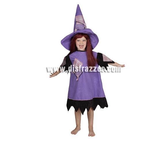Disfraz Bruja Fantasía para niñas (varias tallas)