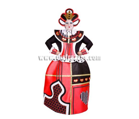 Disfraz barato de la Reina de Corazones para adultos