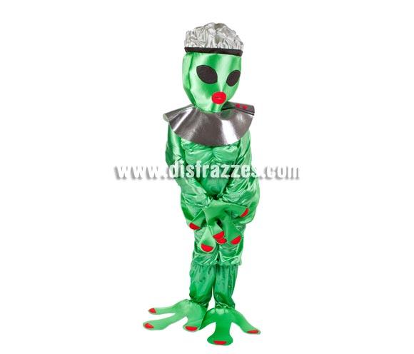 Disfraz de Alienígena Hembra para adultos - Cara tapada. Talla Universal de adultos. Incluye disfraz completo. Éste disfraz es perfecto para Despedidas de Solter@.