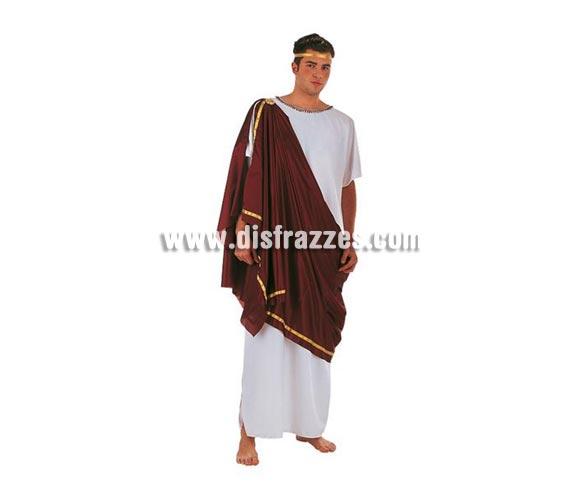 Disfraz de Griego adulto Deluxe. Alta calidad. Hecho en España. Disponible en varias tallas. Incluye túnica y toga. Cinta cabeza NO incluida.