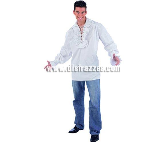 Camisa Cruzada Deluxe. Alta calidad. Incluye camisa. Disponible en varias tallas. Camisa de Tabernero o Posadero para hombre.