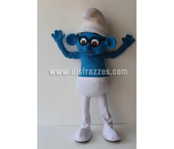 Disfraz o Mascota Publicitaria Duende azul